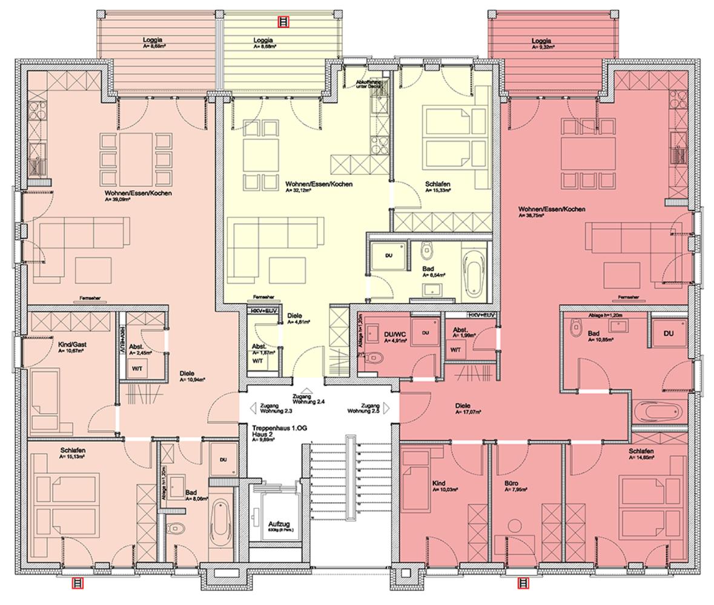 im haus atrium und porta sch tte lanz park. Black Bedroom Furniture Sets. Home Design Ideas